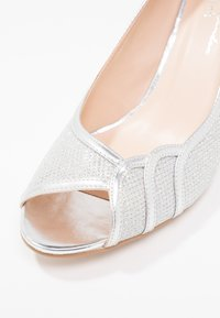 Paradox London Pink - CHESTER - Peeptoes - silver glitter - 6