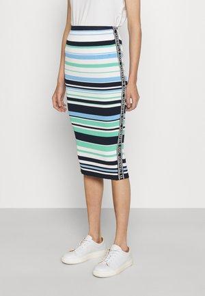 STRIPE PENCIL SKIRT - Pencil skirt - multi