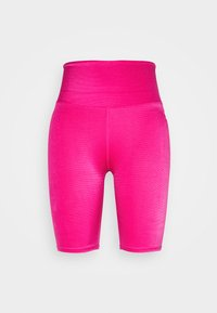 Good American - SHINY BIKE - Short de sport - electric pink - 0