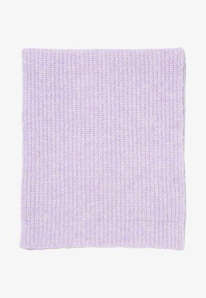 Scarf - multi/peached purple