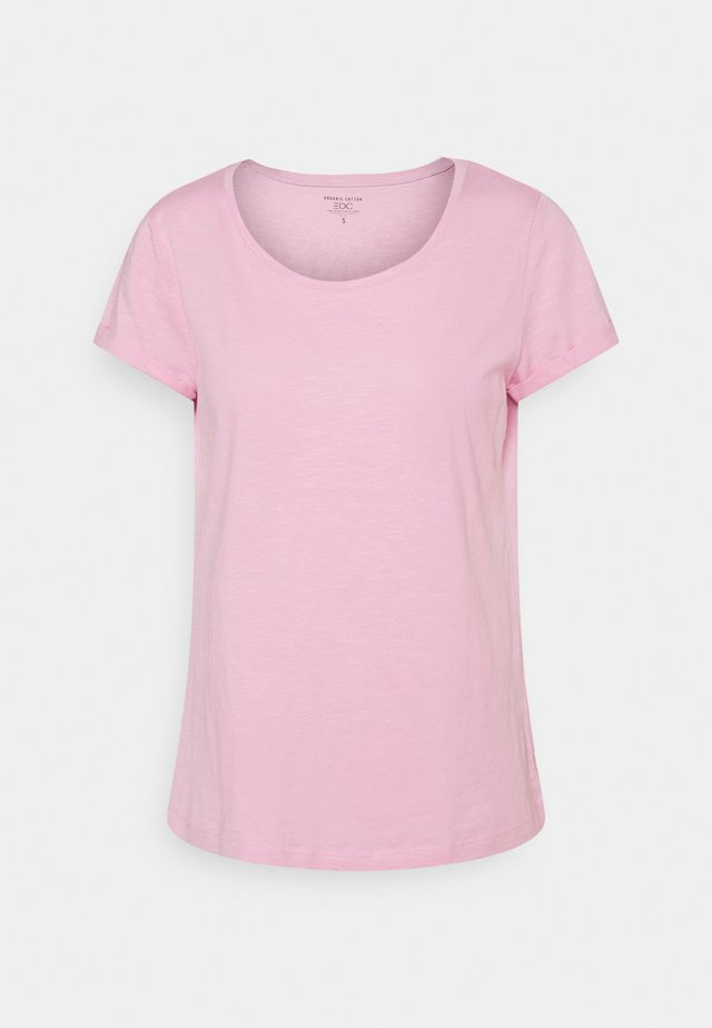 SLUB TEE - T-paita - pink