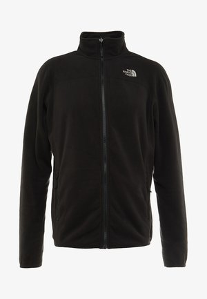 GLACIER FULL ZIP NEW - Kurtka z polaru - black
