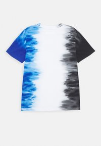 Abercrombie & Fitch - Print T-shirt - black/white/blue - 1
