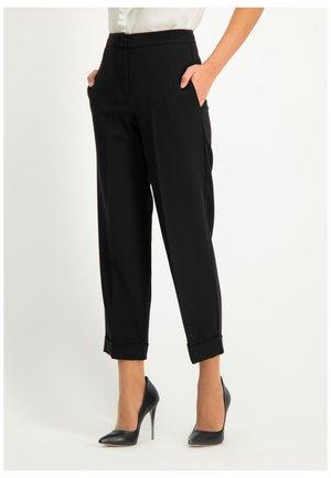 NENZONA - Trousers - black