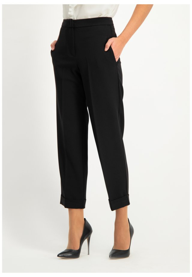 NENZONA - Trousers - black