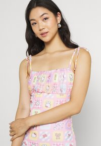 NEW girl ORDER - PATCHWORK BODYCON DRESS - Shift dress - multicoloured - 3