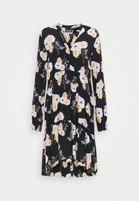 Pieces - PCNADI DRESS  - Denní šaty - black - 4
