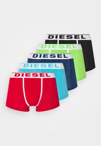 5 PACK - Pants - red/black/green/blue