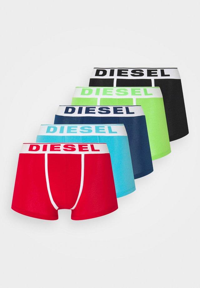 5 PACK - Panties - red/black/green/blue