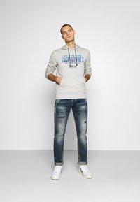 Gianni Lupo - Slim fit jeans - blue denim - 1