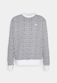 Nike Sportswear - CLUB CREW GRID - Sweatshirt - white - 3