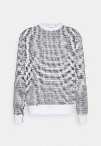 CLUB CREW GRID - Sweatshirt - white