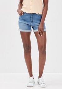 Cache Cache - Denim shorts - denim double stone - 0