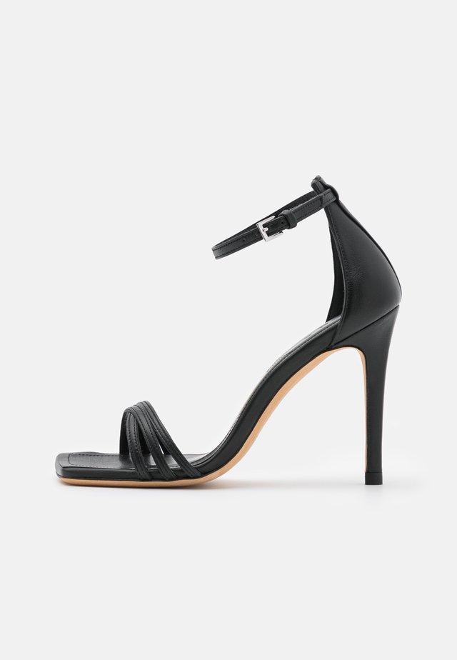 LETIM - Sandalen met hoge hak - black