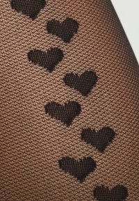 Boux Avenue - HEART BACK HOLD UP - Overknee-strømper - black - 2