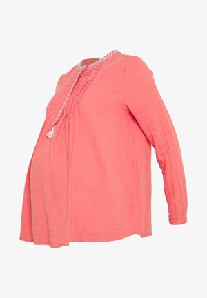 MANGO LASSI - Blouse - pale red