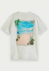 Scotch & Soda - Print T-shirt - white - 1