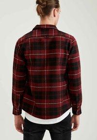 DeFacto - OVERSHIRT - Overhemd - bordeaux - 2