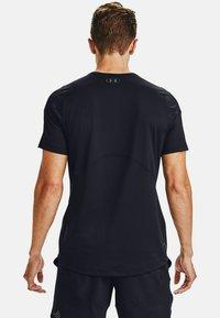 Under Armour - RUSH - T-shirts print - black - 1