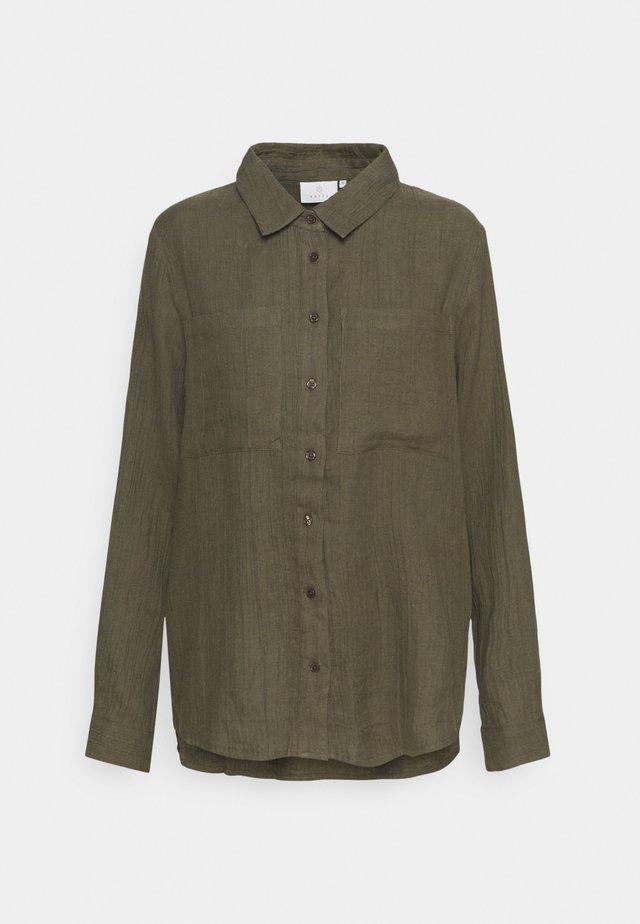 KAMELCIA  - Button-down blouse - grape leaf