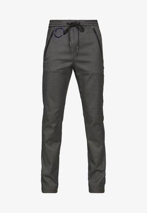 Trousers - melange grey