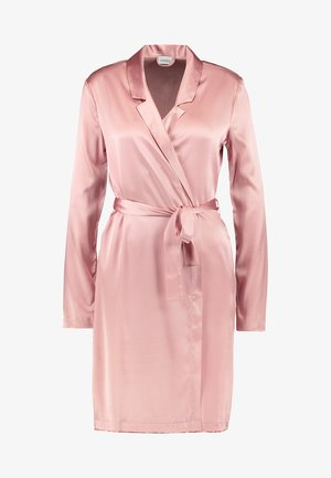 REWARD SHORT ROBE - Dressing gown - pink powder