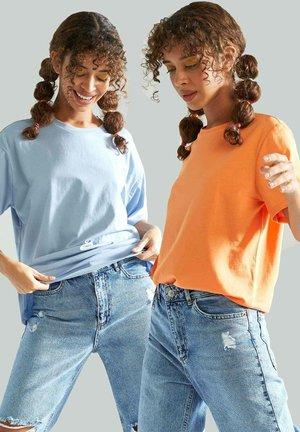 2 PACK - T-shirt basic - orange