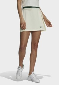 adidas Originals - TENNIS LUXE SKIRT ORIGINALS - Minijupe - off white - 0