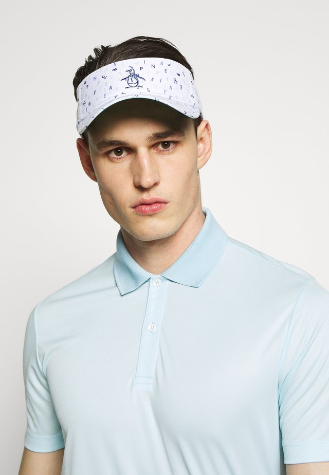 GOLF VINTAGE PRINT VISOR - Cap - bright white