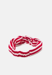 Becksöndergaard - STRIPED HAIRBAND - Hair Styling Accessory - fiery red - 1