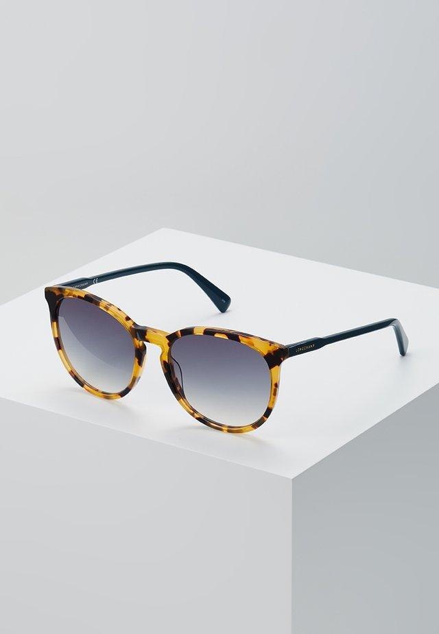 Okulary przeciwsłoneczne - vintage havana/petrol