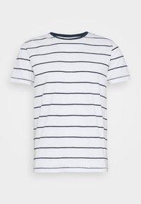 Lindbergh - STRIPED SLUB TEE - Print T-shirt - white - 4