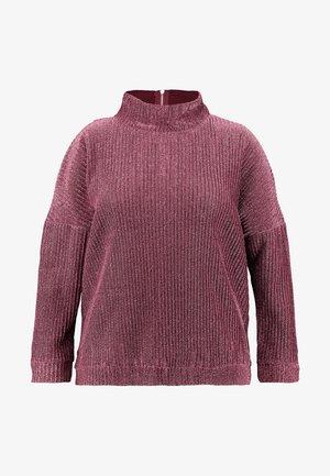 HIGH NECK - Jumper - pink