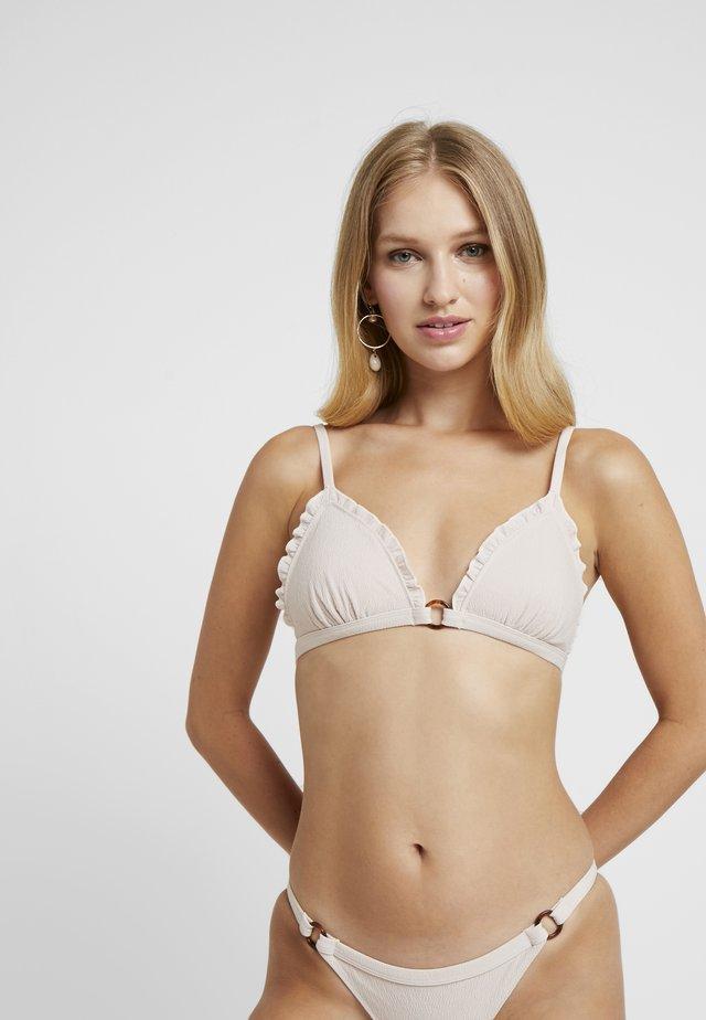 REGGIPETTO - Bikini top - nude