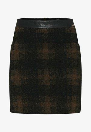 CIRACKER - Pencil skirt - hellbraun