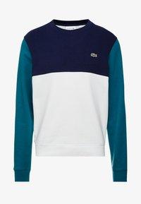 Lacoste - Sweatshirt - farine/marine - 4
