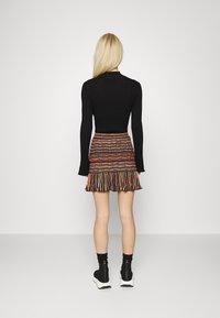 M Missoni - MINISKIRT - Mini skirt - carob - 2