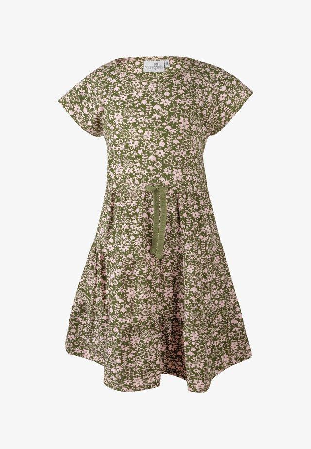 BLUMEN - Korte jurk - khaki