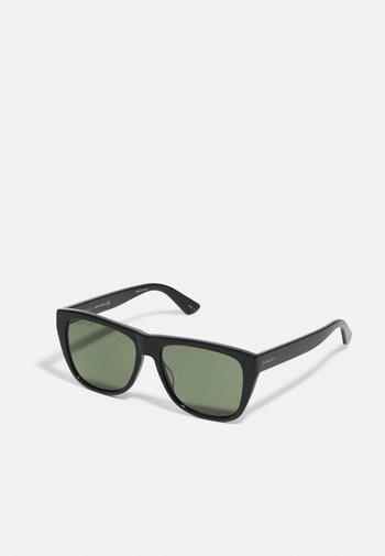 UNISEX - Occhiali da sole - black/black/green