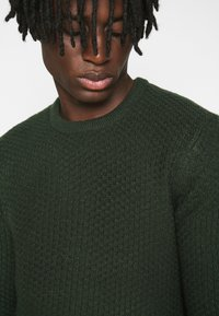 Only & Sons - ONSLOCCER CREW NECK - Jumper - scarab - 4