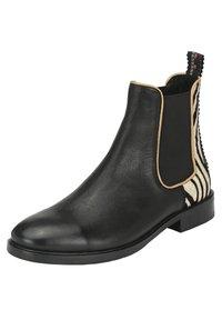 Crickit - Classic ankle boots - schwarz zebra - 4