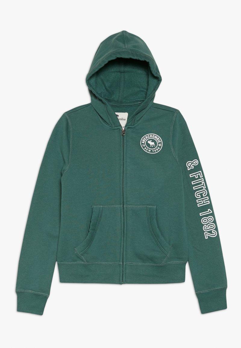Abercrombie & Fitch - Sweatjacke - green