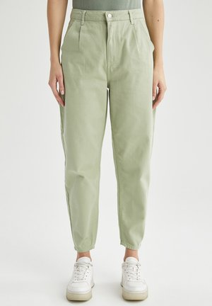 Relaxed fit jeans - turquoise