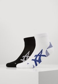 ASICS - CUSHIONING SOCK 2 PACK  - Sports socks - performance black/brilliant white - 0