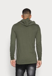 Only & Sons - ONSWF DEAN TEE HOODIE  - Luvtröja - forest night - 2