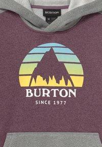 Burton - KIDS OAK HOODIE UNISEX - Sweatshirt - dusk purple heather - 2