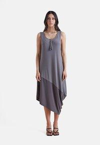 Elena Mirò - Jersey dress - grigio - 0