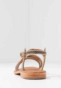 Les Tropéziennes par M Belarbi - HAPAX - Sandales - serpent beige - 5