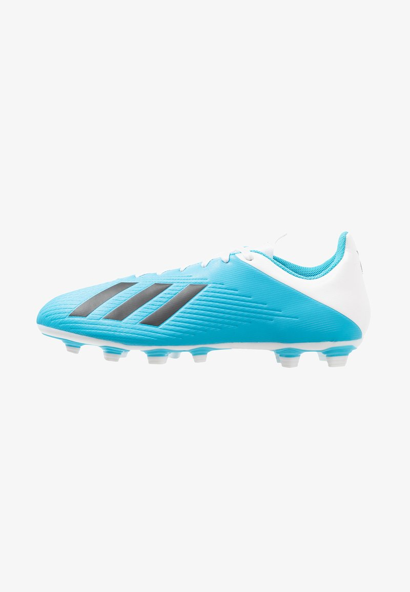 adidas Performance - X 19.4 FXG - Moulded stud football boots - brigth cyan/core black/shock pink