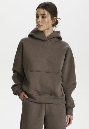 RUBI - Hoodie - brown